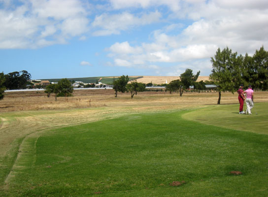Several golfcourses in and around Darling